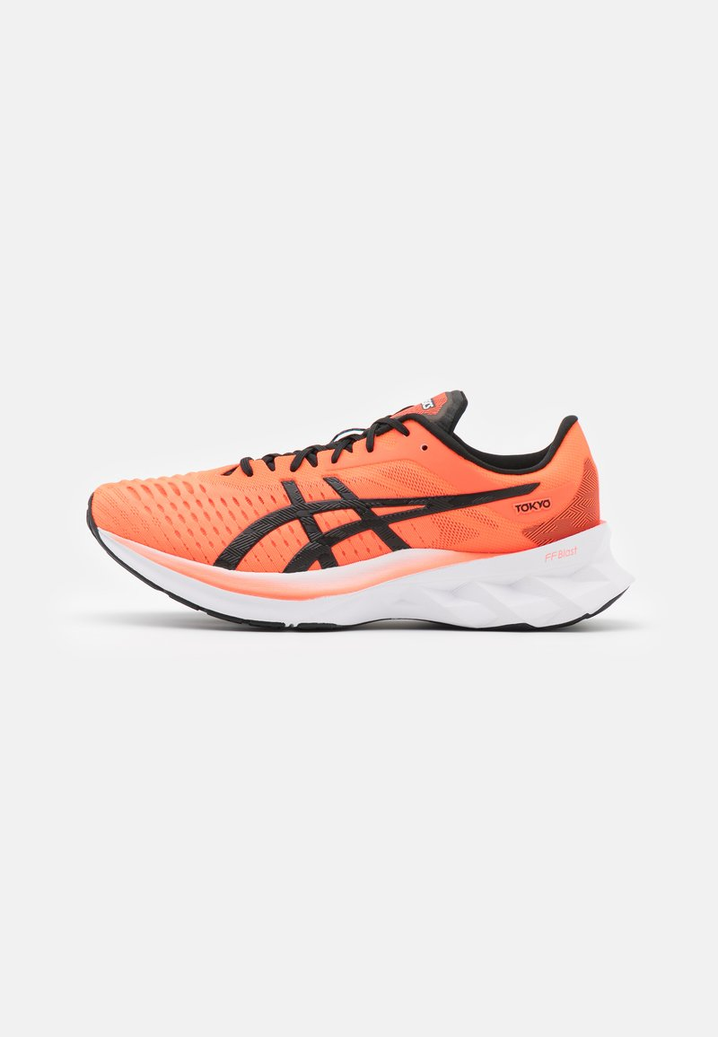 ASICS - NOVABLAST - Chaussures de running neutres - sunrise red/black