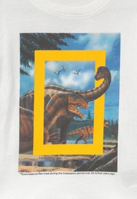 GAP - TODDLER BOY NATIONAL GEOGRAPHIC  - T-shirt z nadrukiem - new off white - 2