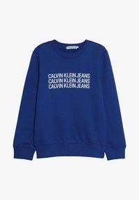 Calvin Klein Jeans - TRIPLE LOGO - Sweater - blue - 2