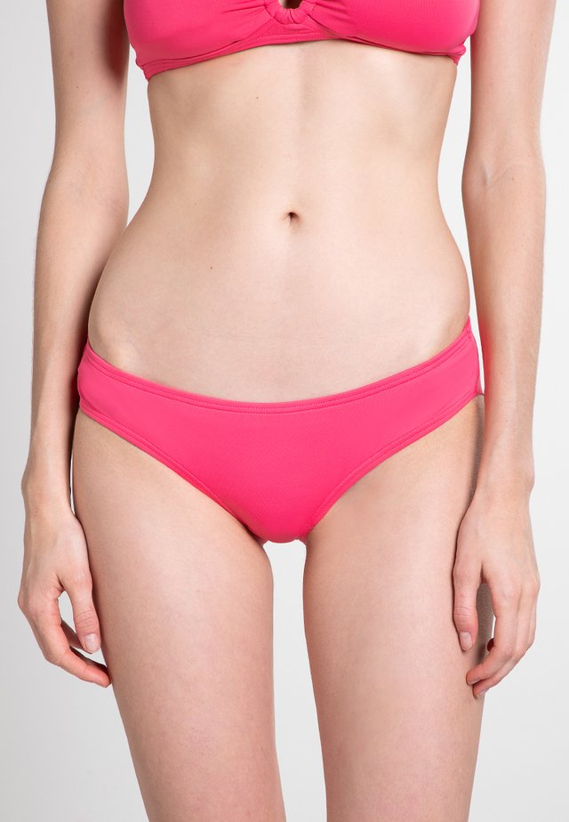 SHORE SHADES SHIRRED CHEEKY HIBISCUS - Bikinibroekje - hibiscus