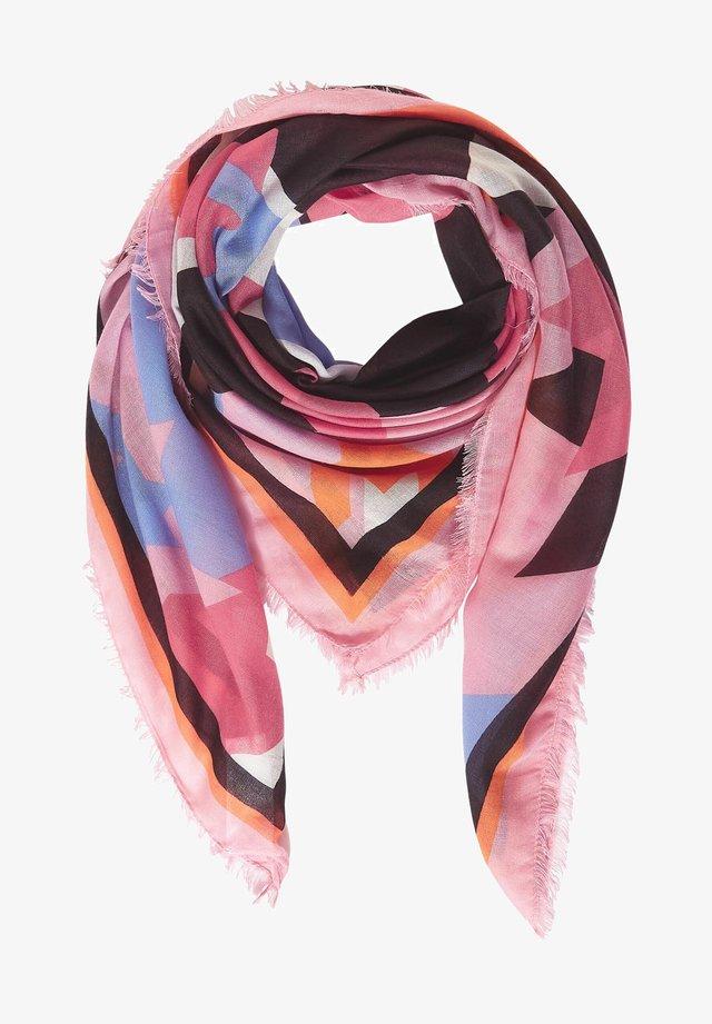 MIT PRINT - Scarf - rosa