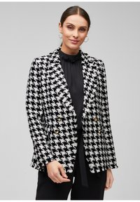 s.Oliver BLACK LABEL - Blazer - black check - 0