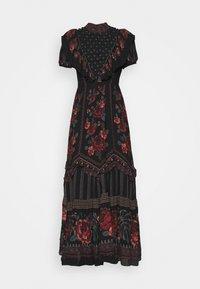 Farm Rio - EMBROIDERED FLORAL MAXI DRESS - Maxi dress - multi - 4