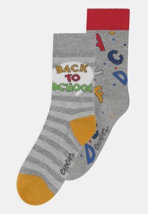 BACK TO SCHOOL SOCKS 2 PACK UNISEX - Socks - multi-coloured