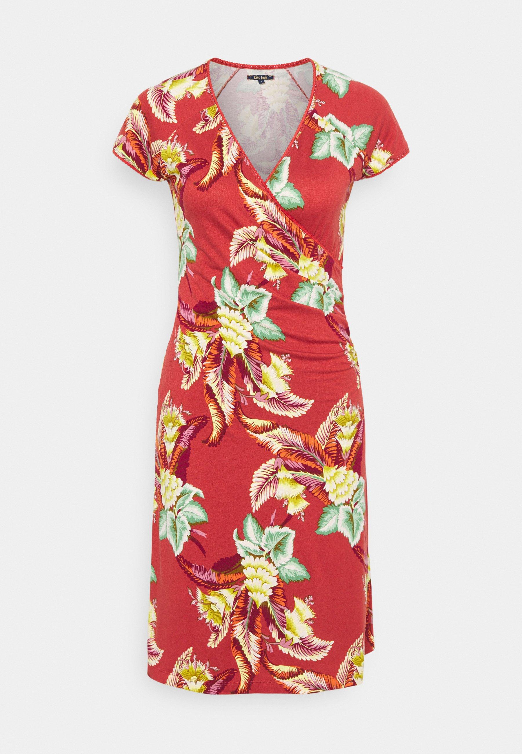 Women CROSS DRESS TOPANGA - Jersey dress