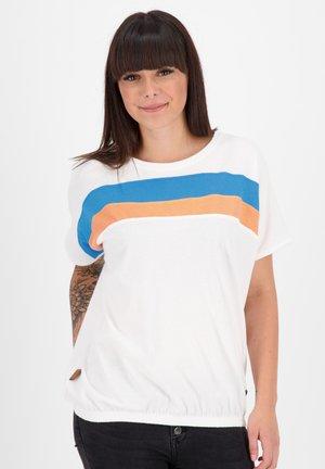 DINAAK - Print T-shirt - white