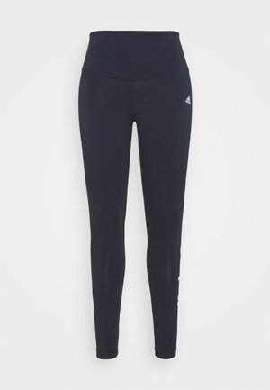 LINEAR SPORTS ESSENTIALS LEGGINGS FITTED - Legging - legend ink/white