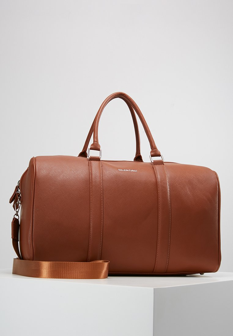 Valentino Bags - FILIPPO - Weekend bag - dark cognac