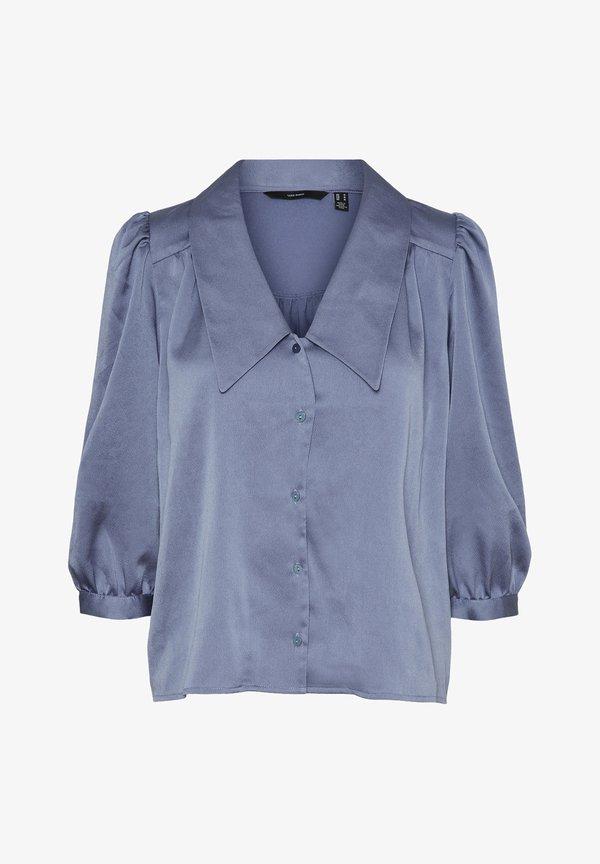 Vero Moda Koszula - blue ice/niebieski FMUE