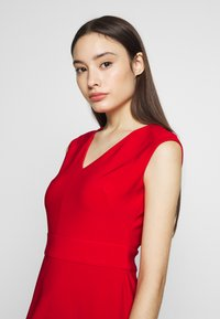 Lauren Ralph Lauren Petite - JANNETTE CAP SLEEVE DAY DRESS - Shift dress - persimmon - 3