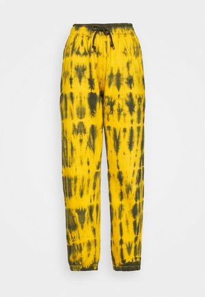 TIE DYE JOGGER - Tracksuit bottoms - brown