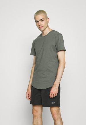 ONSMATT LIFE LONGY TEE  - T-shirt basic - castor gray