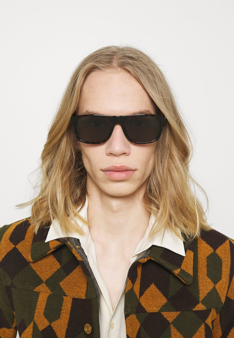Gucci - Sluneční brýle - havana/green
