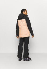 The North Face - PALLIE JACKET - Skijakke - black/morning pink - 2