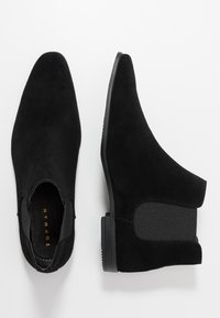 Topman - BRIAR CHELSEA - Classic ankle boots - black - 1