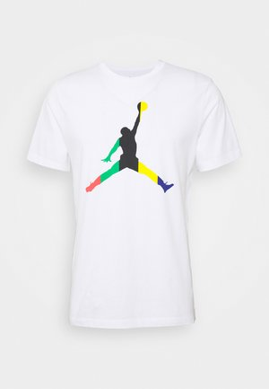 JUMPMAN CREW - T-Shirt print - white