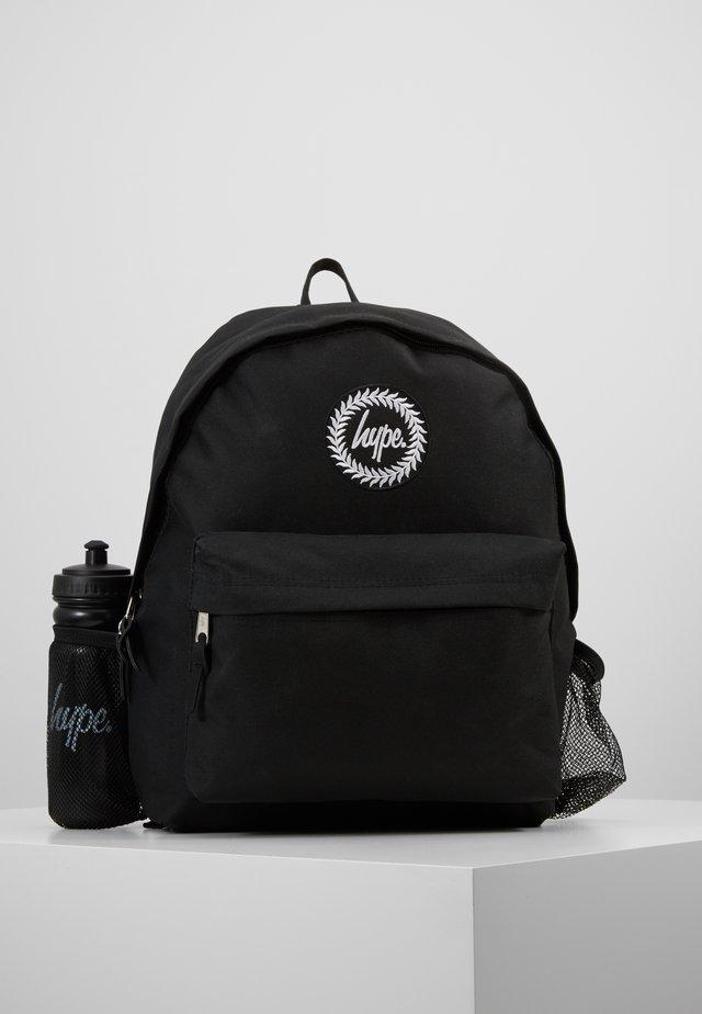 BACKPACK CREST SET - Reppu - black