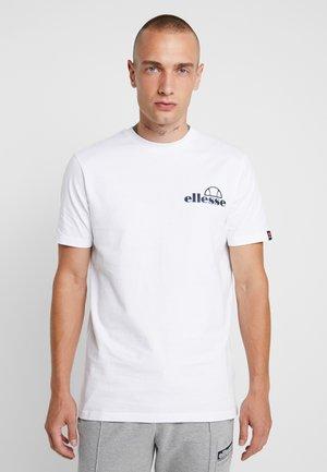 FONDATO - Print T-shirt - white