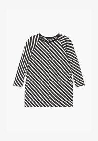 Papu - STRIPE - Žerzejové šaty - black sand - 0