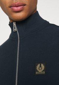 Belstaff - ZIP THROUGH - Sweater met rits - dark ink - 4