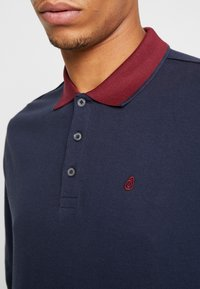 Burton Menswear London - POP COLLAR - Piké - navy - 5