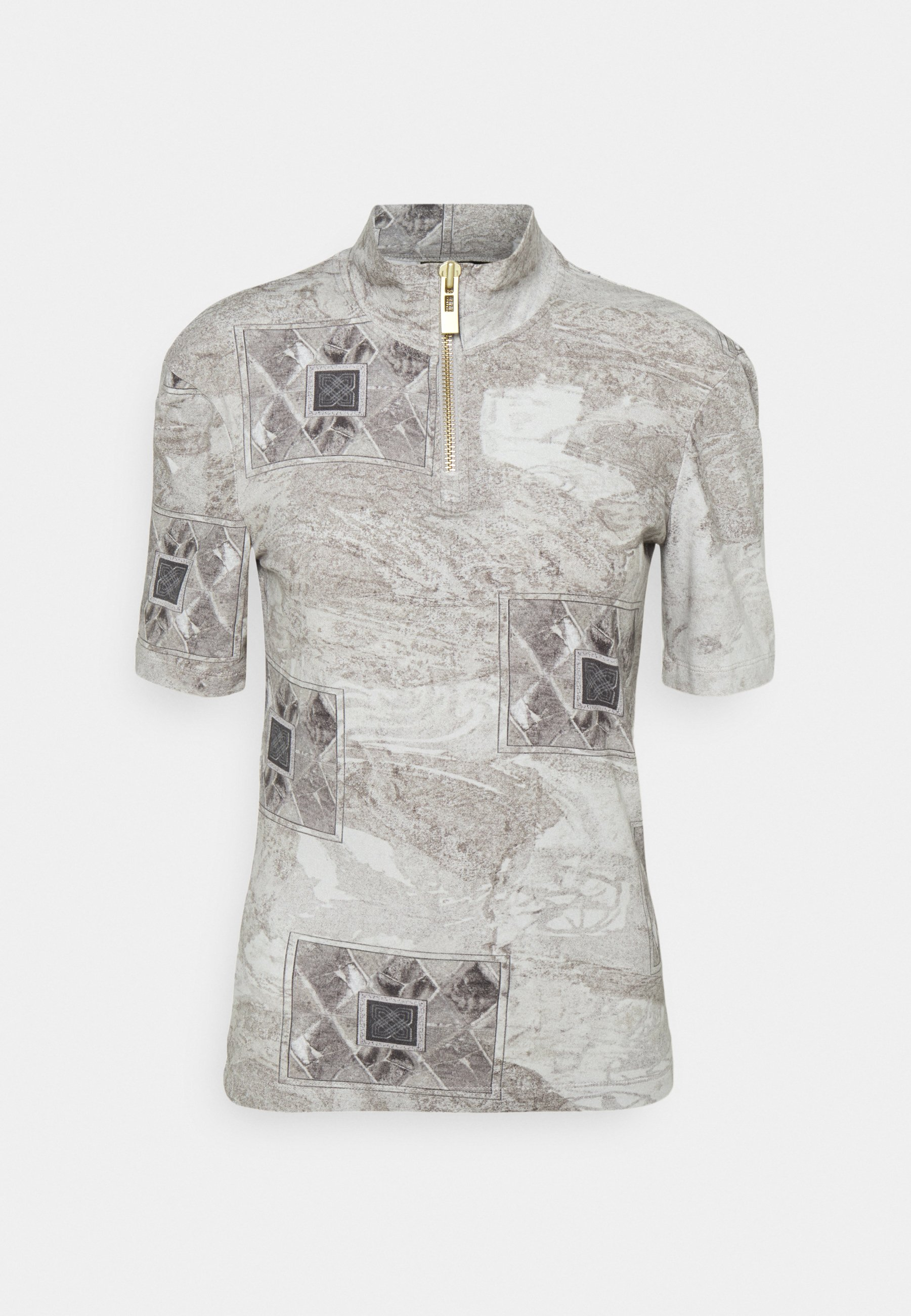 Damen HALF ZIP TEE - T-Shirt print
