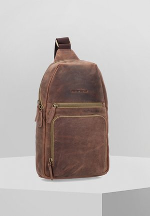 VINTAGE TEC - Across body bag - brown