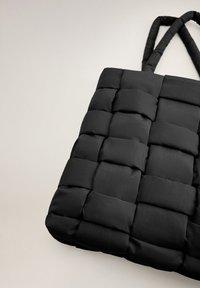 Mango - EDREDON - Shopping bags - noir - 2