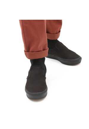UA COMFYCUSH SLIP-ON - Slip-ons - black