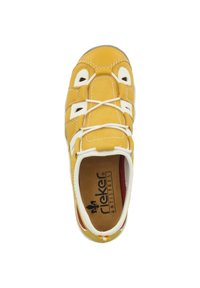 Rieker - Casual lace-ups - yellow/pure white - 1