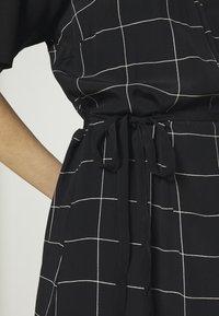 JUST FEMALE - HALLE WRAP DRESS - Maxi dress - dark blue - 5