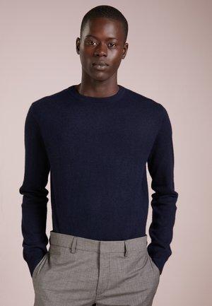 MENS CREW NECK SWEATER - Pullover - dark navy