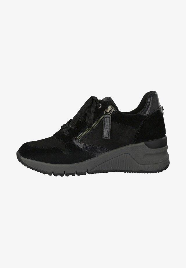 Sneakers laag - black comb