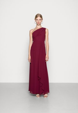 GEENA MAXI - Společenské šaty - burgundy