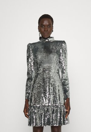 SEQUINED - Cocktail dress / Party dress - silver