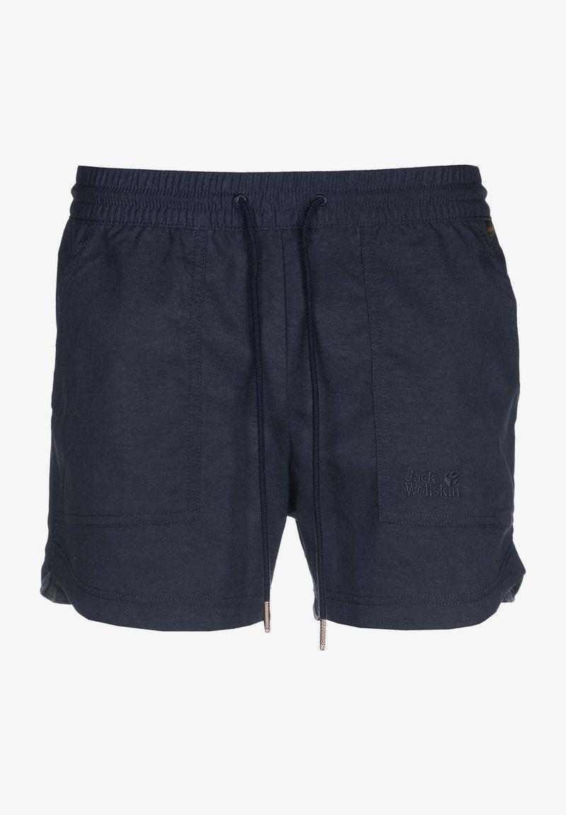 Jack Wolfskin - SENEGAL SHORTS - Sports shorts - midnight blue