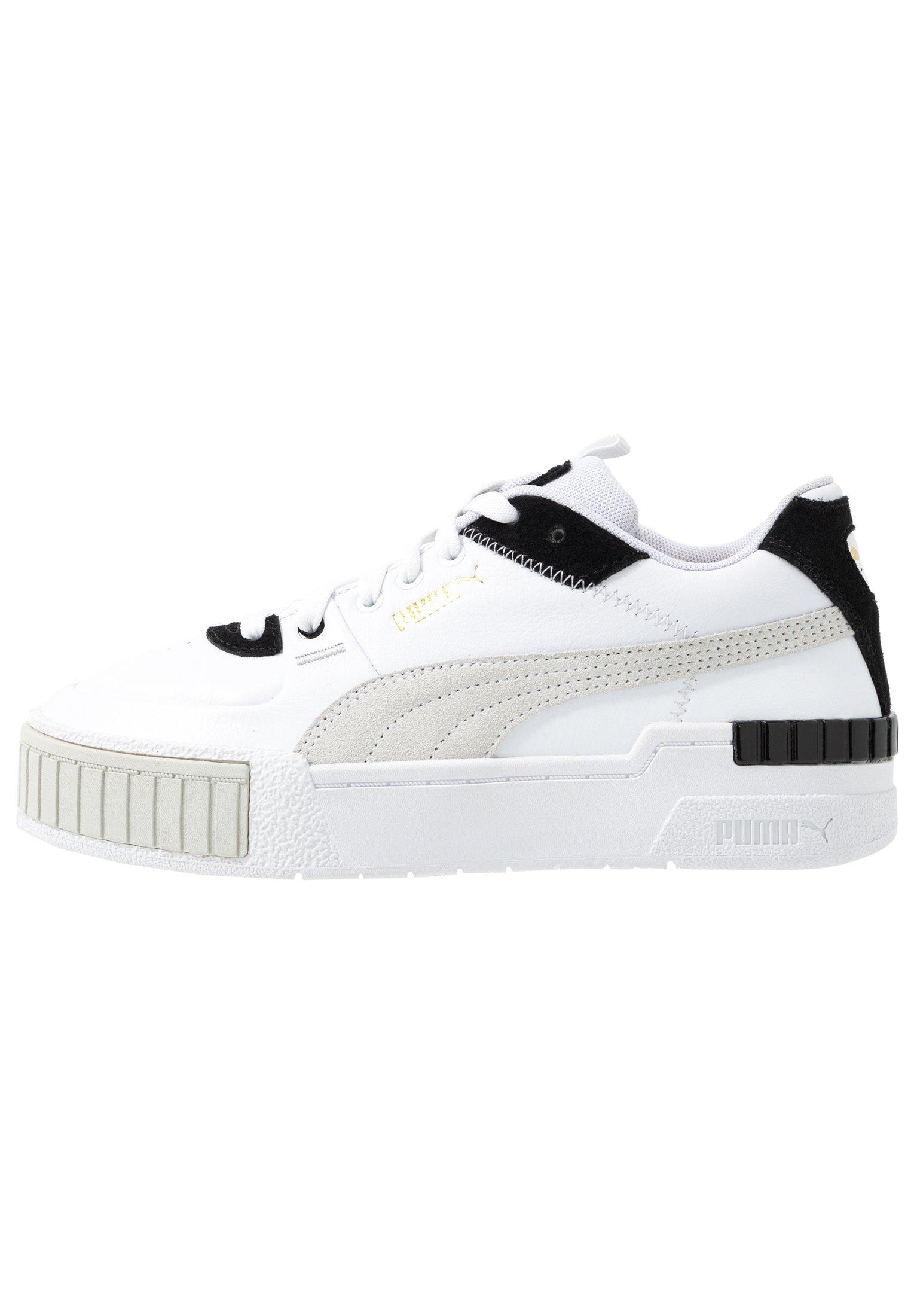 CALI SPORT MIX - Baskets basses - white/black