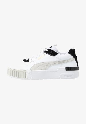 CALI SPORT MIX - Matalavartiset tennarit - white/black