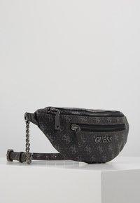 Guess - CALEY BELT BAG - Saszetka nerka - grey - 3