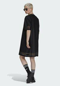 adidas Originals - Skjortklänning - black - 2
