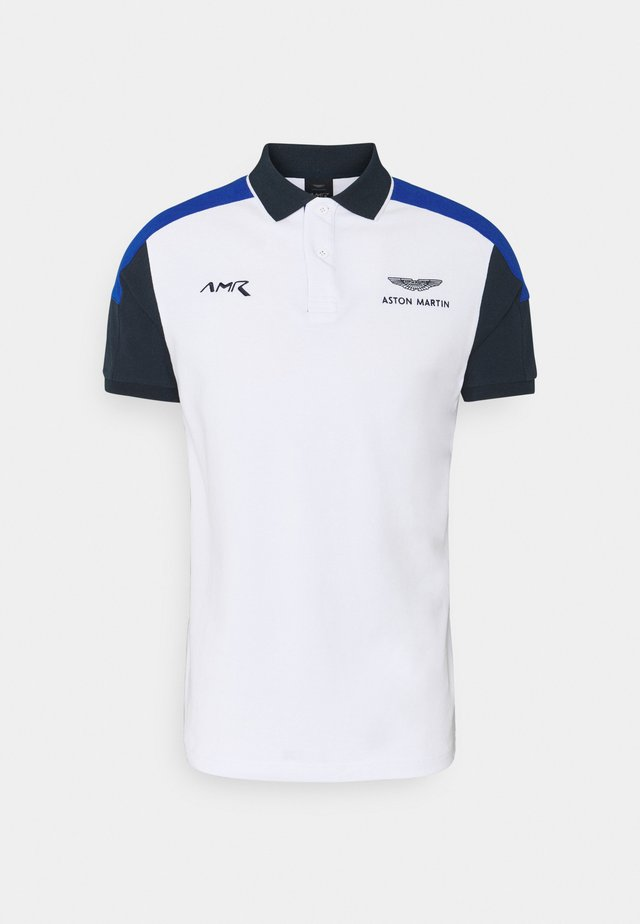 BLOCK PANEL - Polo - white/blue
