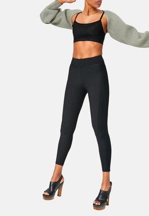 SHAPE LEGGINGS POWER MESH - Leggings - Trousers - black