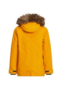 WE Fashion - MET CAPUCHON EN AFNEEMBARE BONDKRAA - Parka - yellow - 1