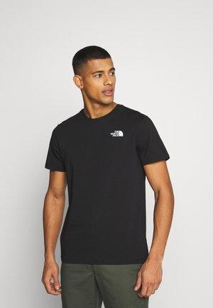 SLANTED LOGO TEE - T-Shirt print - white