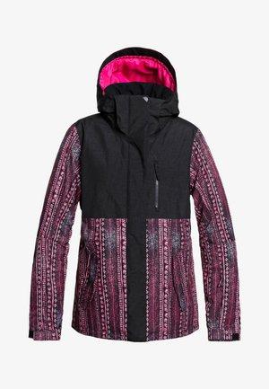 ERJTJ - Snowboard jacket - black