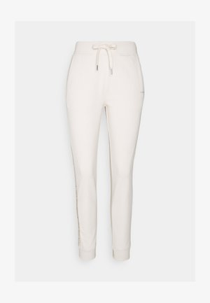LOGO PANTS - Trainingsbroek - white sand