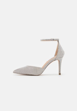 LINSEY - Classic heels - silver