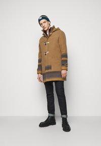 PS Paul Smith - MENS DUFFLE COAT - Classic coat - camel/blue - 1