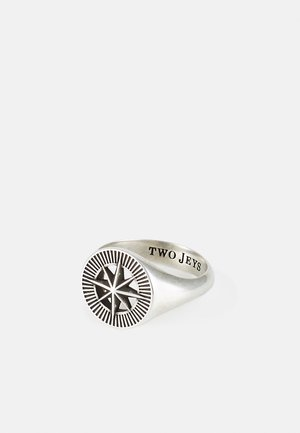 COMPASS RING UNISEX - Ring - silver-coloured