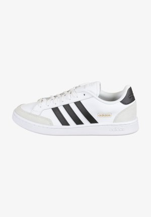 GRAND COURT - Trainers - footwear white / core black / orbit grey